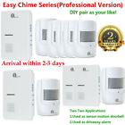 1byone 1000ft Long Range Wireless Door Bell Plug-in Driveway Alarm Alert System
