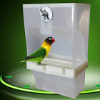 EG_ Bird Poultry Feeder Automatic Food Container Parrot Pigeon Splash Proof Nove