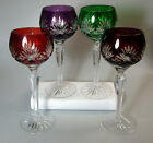 Kyпить FIFTH AVENUE FIF3 CUT TO CLEAR HOCK WINES, 4 COLORS AVAILABLE -  MULTIPLE PIECES на еВаy.соm