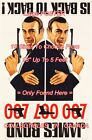 "DR. NO / FROM RUSSIA WITH LOVE 1965 James Bond 007 = POSTER 10 Sizes 18"" - 5 FT $68.88 CAD on eBay"