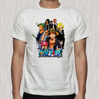 0ne Piece Luffy And His Crew Cartoon Anime Men's T-Shirt Size S to 5XL
