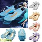 'Girls Sandals Jelly Shoes Crystal Princess Elsa Costume Kid Fancy Dress Up Party