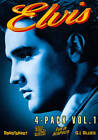 Elvis 4-Movie Collection Vol 1 (4pk) by Various