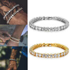 Fashion Bracelet Luxury Shiny Hip Hop Link Chain Bracelet Inlaid Rhinestone
