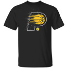 NBA Eastern Indiana Pacers Iconic Splatter Graphic Mens T-Shirt Black Navy L-3XL on eBay