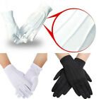 US STOCK Cotton gloves Khan cloth quality Protector gloves white gloves 1 Pairs#