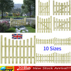 Wooden Garden Gate Fsc Impregnated Pinewood Fence Door Side Picket Gates Vidaxl