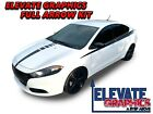Dodge Dart Arrow Side And Hood Graphics Vinyl Stripes 3M Decal Sticker 2013-2020 $79.95 USD on eBay