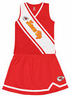 Outerstuff NFL Youth Girls Kansas City Chiefs Cheerleader Play Two Piece Set $12.99 USD on eBay