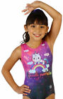 NEW Purrfect Kitty Sublimated Gymnastics Leotard by Snowflake Designs