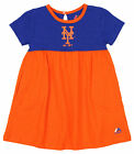 Majestic MLB Girls Toddler New York Mets 7th Inning Twirl Dress, Orange/Blue on Ebay