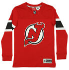 Reebok NHL Boys Youth New Jersey Devils Face Off Long Sleeve Tee, Red $12.99 USD on eBay