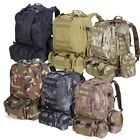 55 L Outdoor Military Molle Tactical Backpack Rucksack Camping Travel Hiking Bag