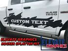 Ram 1500 Side Rocker Splatter Graphics Dodge Stripes Decals 3M Sticker 2009-2018