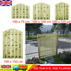 Garden Arched Gate Fsc Impregnated Pinewood Fence Door Side Picket Gates Wooden