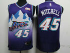 New Season Utah Jazz #45 Donovan Mitchell Basketball Jersey Purple Size:S-XXL on eBay