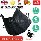 Rear Dog Seat Cover Pet Cat Auto Protector Hammock Safety Mat Cushion Seat Belt