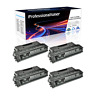 4 PK CF280X 80X Black Toner Cartridge Compatible For HP LaserJet Pro 400 M425dn