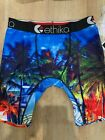 Ethika Men's The Staple Fit | Beachin' (Palm Trees)| Boxer Brief Underwear | USA