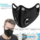 Cycling Sports Face Covers Activated Carbon Filter Anti-Pollution Cover Headwear