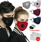 Kyпить USA PM 2.5 Cotton Face Cover Activated Carbon Filtre Washable + Replace Air Pads на еВаy.соm