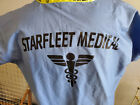 Star Trek Starfleet Blue Medical Scrubs- Your Choice of Size- USA Mailed daily! on eBay