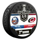 Carolina Hurricanes 2019 New York Islanders Stanley Cup Playoff Hockey Puck $9.95 USD on eBay