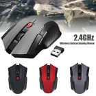 2.4GHz Wireless Optical Mouse Game Mice with USB Receiver  for PC Gaming Laptops