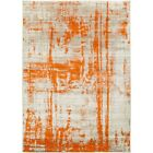 Surya JAX-5032 Jax Area Rug, Burnt Orange/Light Gray
