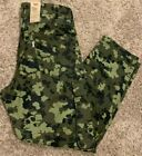 Levi's 502 Hybrid Cargo Camo Pant Expandable Waist WStretch Men's Sizes NWT