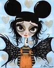Believe No 2 by Dottie Gleason Bat Girl Canvas or Paper Art Print for Framing