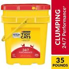 Purina Tidy Cats Clumping Cat Litter, 24/7 Performance Multi Cat Litter