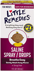 Little Remedies Saline Spray and Drops | Safe for Newborns | 50% more