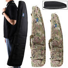 Tactical Airsoft Shotgun Rifle Gun Long Soft Carry Case Shoulder Bag Camo Black