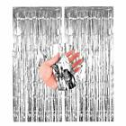 2M-3M Foil Fringe Curtain Tinsel Shimmer Door Birthday Party Wedding Decorations