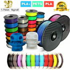 3D Printer Printing Filament 1.75mm 1KG Accuracy Makerbot Spool PETG/ PLA/ PLA+