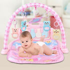 Baby Infant Gym Floor Play Mat Soft Activity Musical Pad Kick & Play w/Piano Toy