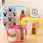 Wash Bag Storage Pouch Cosmetic Organizer Waterproof Transparent Makeup Bag 6t