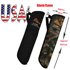 Durable Crossbow Arrow Quiver Bag Pouch Holder Outdoor Hunting Shooting Archery