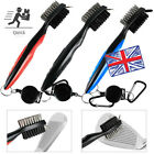 1x Golf Club Cleaning Groove Brush Cleaner Tool Hook to Bag for Iro
