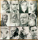 LTD ED prints ACEO sketch cards STAR WARS  -  episodes 1 to 6  -  £2.50 each $3.05 USD on eBay