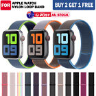 For Apple Watch Band Series Se/6/5/4/3/2 Nylon Sport Loop Iwatch Strap Au Stock