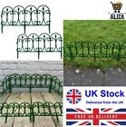 Aliza Plastic Garden Border Picket Fence | Edging Ornate Fence Border For Lawn