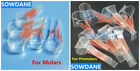 Dental Self-Adhesive Transparent Sectional Contoured Matrix Polyester matrices