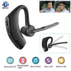 Wireless Headset Bluetooth Music Earphone Ear Hook For Android IOS Samsung Apple