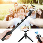 bluetooth Extendable Selfie Stick Monopod Handheld+Tripod For Smart Cell Phone A