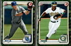 2020 Bowman Prospects Camo Parallel w/ 1st Bowman - You Pick From A ListBaseball Cards - 213