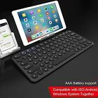Wireless Bluetooth Keyboard Retro Round Gaming Ergonomic Keyboard For Ipad Iphon
