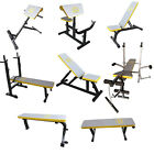 'Weight Bench Training Multi Gym Fitness Preacher Butterfly Exercise Incline