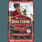 Purina Dog Chow Dry Dog Food Complete Adult With Real Beef